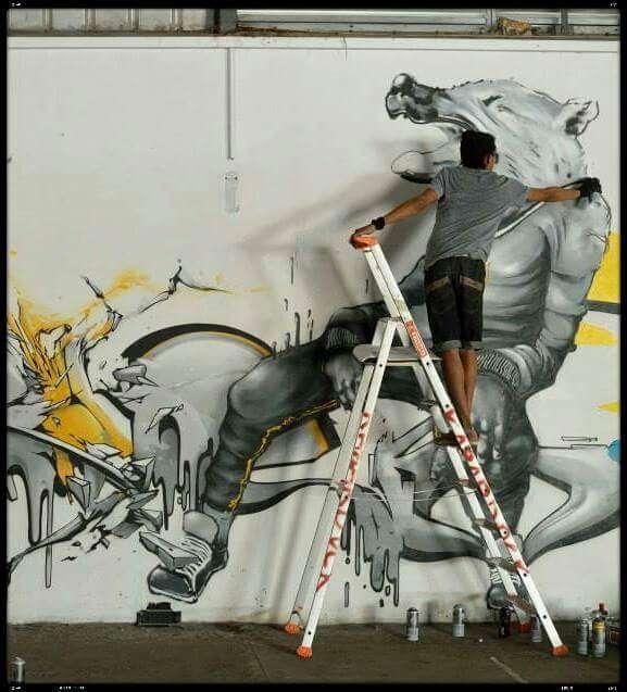Abeil - Street Art Reunion Island