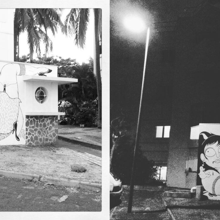 Mur - Floe - Street art Reunion Island
