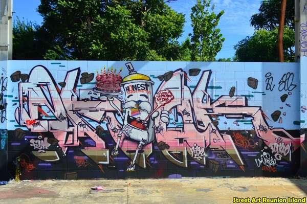 Omouck, fresque