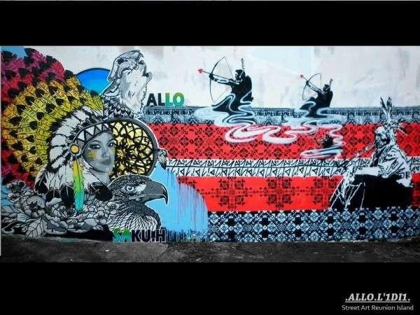 Allo - Street Art Reunion Island