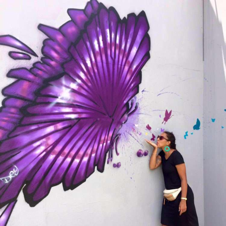 Dey - Street artiste Réunionnaise - Saint Denis 974